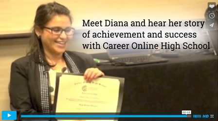 Career Online High School-Meet Diana