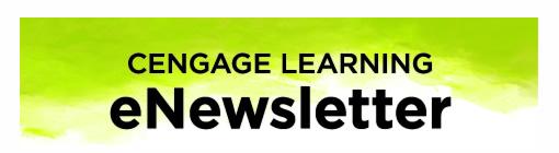 Cengage Learning eNewsletter